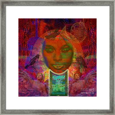 Solar Eyes Framed Print