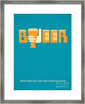 I Like Beer Framed Print by Igor Kislev