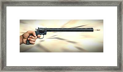 I Like Big Guns Framed Print by Mike McGlothlen