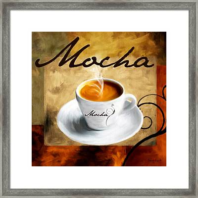 I Like  That Mocha Framed Print