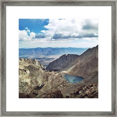 Mt. Whitney Framed Print