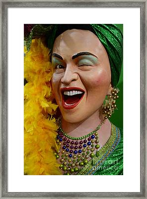 I Like Your Style Framed Print by Bob Christopher