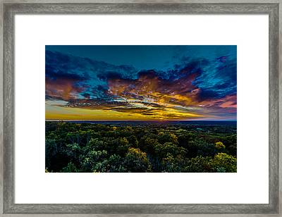 I Look At The World And I Notice It's Turning Framed Print