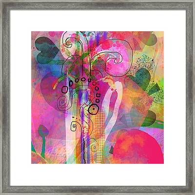 I Love Color, Does It Show Framed Print