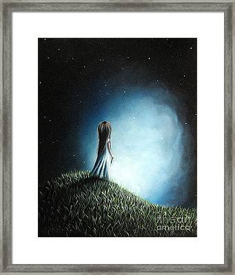 I Love Her So Much I Cry By Shawna Erback Framed Print