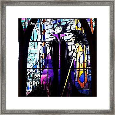 I Love My Screen Saver. #stainedglass Framed Print