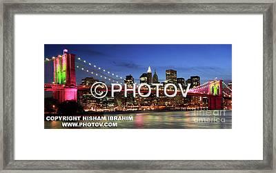 I Love New York -  Limited Edition Framed Print by Hisham Ibrahim