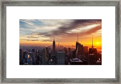 I Love New York Framed Print by Maico Presente