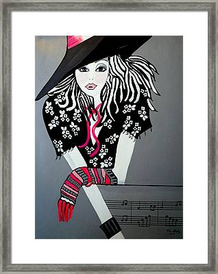 I Love Rock And Roll Framed Print