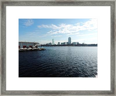 I Love That Dirty Water Framed Print by Mike Greco