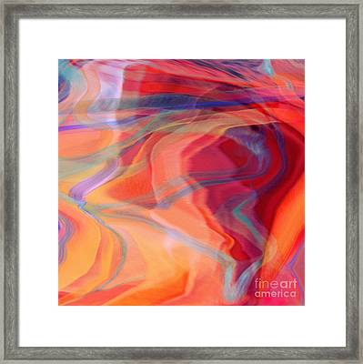 I Love That Song Framed Print by Joan A Hamilton