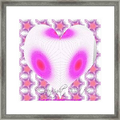 I Love You And No One Else Framed Print by PainterArtist FIN