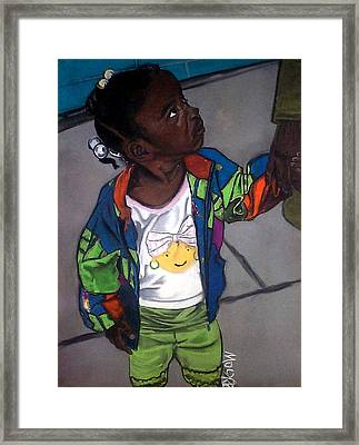 I Love You Mommy Framed Print by Michael Mahue Moore