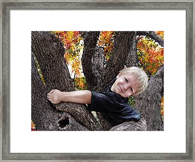 I Love You This Much Framed Print by Jane Schnetlage