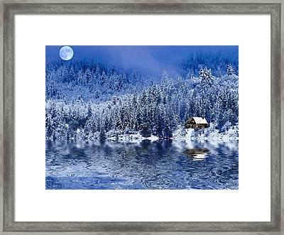 I Loved You In Winter Framed Print