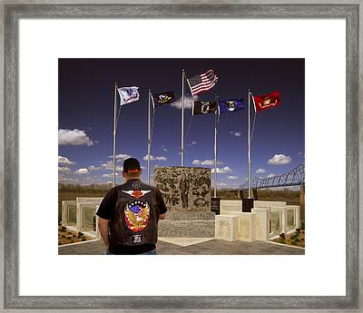 I Miss My Mom Framed Print by Wendell Thompson
