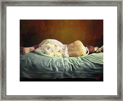 I Miss You Framed Print by James Shepherd