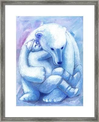 I Missed You Framed Print by Angela Treat Lyon