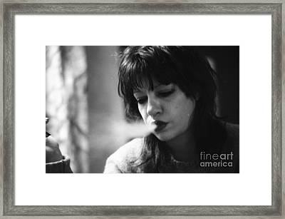 I Need God In My Life Right Now Framed Print by Steven Macanka