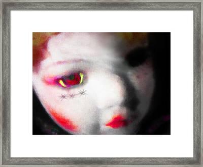 I Often Bite Framed Print by Steve Taylor