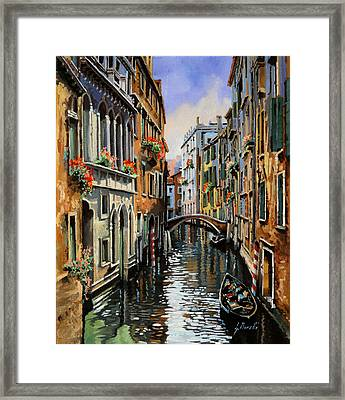 I Pali Rossi Framed Print by Guido Borelli