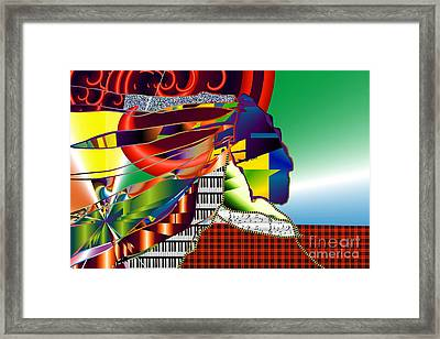 I Perceive Framed Print by Kim Peto