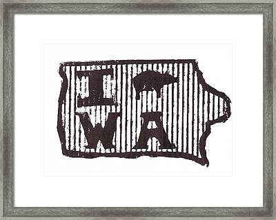 I Pig W A Framed Print by Jame Hayes