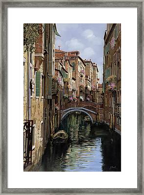 I Ponti A Venezia Framed Print