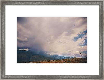 I Predict Rain Framed Print by Laurie Search