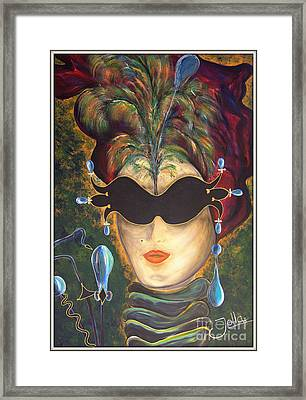 I Put A Spell On You... Framed Print by Jolanta Anna Karolska