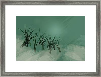 Deep Waters Framed Print by Diana Angstadt