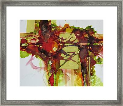 I Saved These Colors Just For You Framed Print by Patricia Mayhew Hamm
