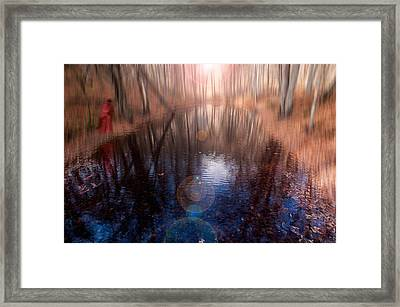 I Saw A Dream Framed Print by Okan YILMAZ