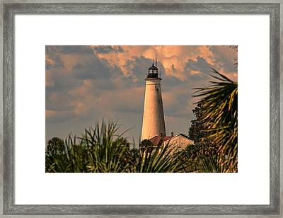I See A Bad Storm Approaching Framed Print by Frank Feliciano