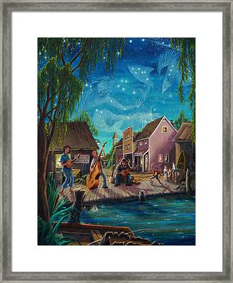 I See A Good Moon Arising Framed Print