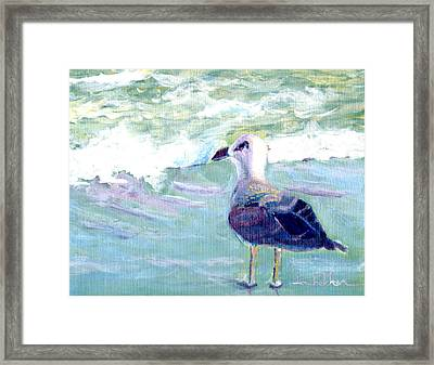 I See Russia Framed Print by Lou Belcher