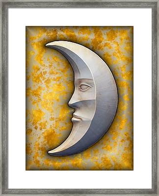 I See The Moon 1 Framed Print by Wendy J St Christopher