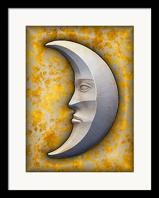 I See The Moon Framed Prints