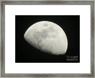 I See The Moon And The Moon Sees Me Framed Print by Janice Westerberg