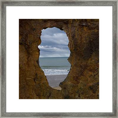 I See The Sea Framed Print by Heather Provan