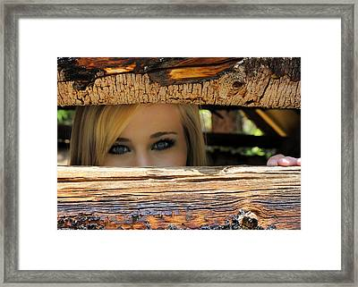 I See You Framed Print by Jessica Tookey