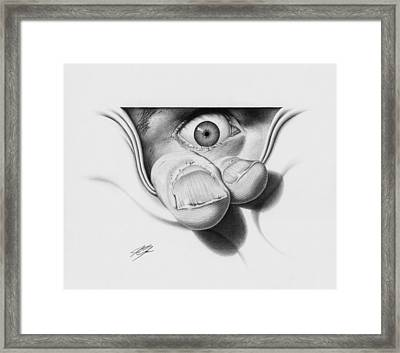 I See You Framed Print by Joe Burgess