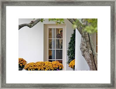 I See You...mr. President Framed Print