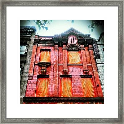 I See Your True Colors Shining Through Framed Print by Sharon Heyward