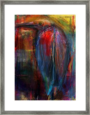 I Seen A Bird Framed Print