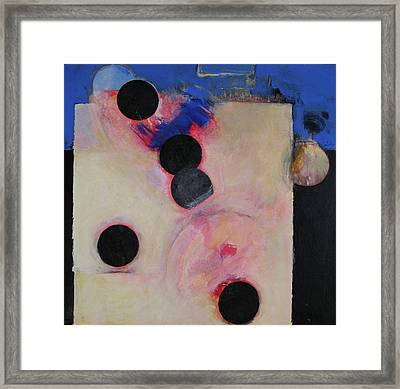 Framed Print featuring the painting I Smell Chocolate  by Cliff Spohn