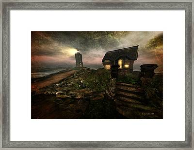 I Stand Alone On An Emerald Isle Framed Print by Kylie Sabra