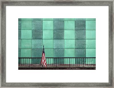 I Stand Alone Framed Print
