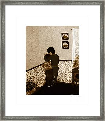 I Stay Wif You Framed Print by Barbara Griffin