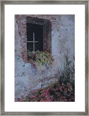 I Still Get Flowers Framed Print